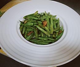 家常菜—四季豆炒肉—不一样的味道的做法