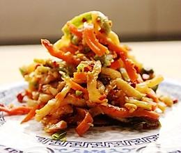 干萝卜条咸菜的做法