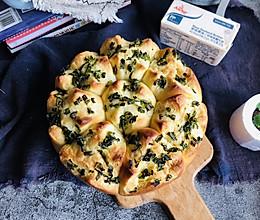 """#安佳一口""""新""""年味#黄油香葱早餐包的做法"""