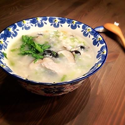 香菇芹菜健胃粥