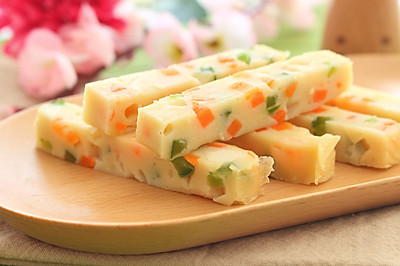 豆腐蔬菜条  宝宝健康食谱