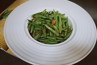 家常菜—四季豆炒肉—不一样的味道
