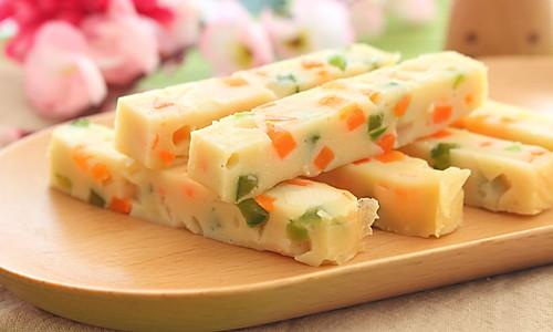 豆腐蔬菜条  宝宝健康食谱的做法