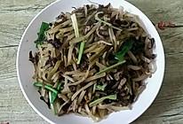 木耳榨菜炒肉丝的做法