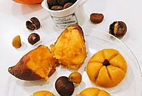 秋日三宝:栗子红薯南瓜饼的做法