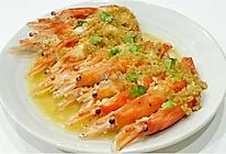蒜蓉蒸虾 的做法