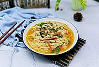 #精品菜谱挑战赛#茄汁火腿金针菇的做法