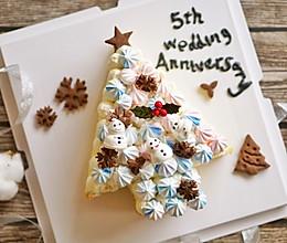 圣诞树裸蛋糕的做法