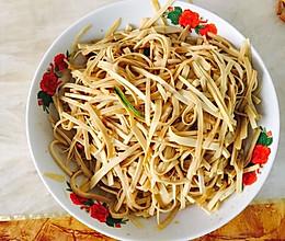 家常菜「油泼干豆腐」的做法