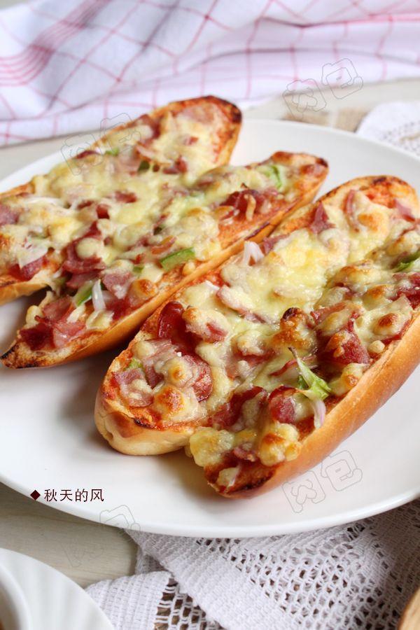 牛奶面包——简易披萨的做法
