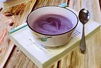 紫薯银耳露的做法