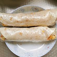 简易早餐~鸡肉卷