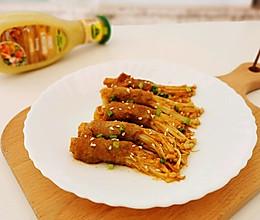 金针菇爱上肥牛卷的做法