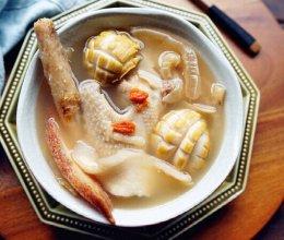 香菇花胶鸡汤的做法