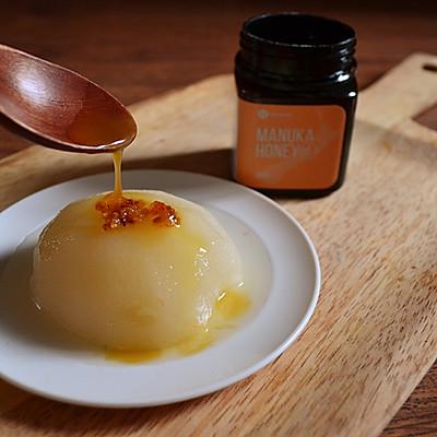 蜂蜜冰糖炖雪梨