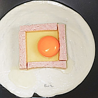 营养快手早餐丨午餐肉鸡蛋饼(手抓饼)的做法图解2