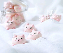 猪猪蛋白糖的做法