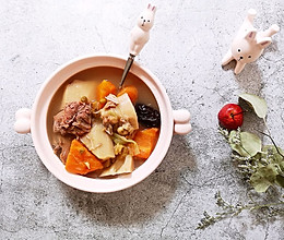 益气补血养颜排骨汤的做法