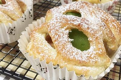 犹如鸟巢般的奇异果丹麦面包#长帝烘焙节华北赛区#