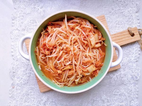 #秋天怎么吃#韩式泡菜拌豆芽#麦子厨房美食锅#的做法