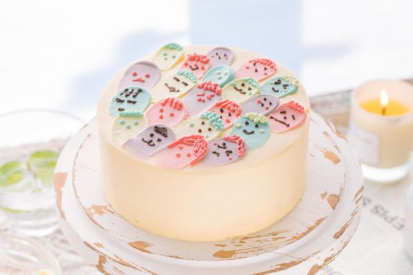 小精灵蛋糕