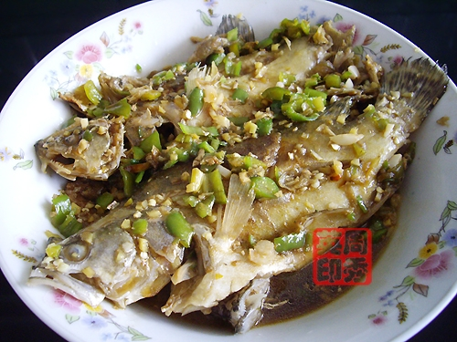 鲜美至极的特色鱼料理 青椒焖臭桂鱼