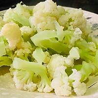 #百变鲜锋料理#鲍汁蚝油西红柿炒花菜的做法图解9