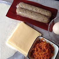 芝士牛肉肠卷的做法图解1