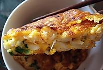 银鱼煎蛋的做法