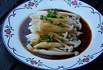 葱香白玉菇的做法