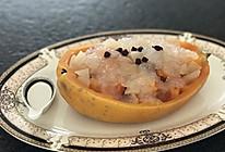 木瓜炖雪蛤的做法
