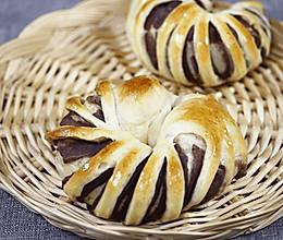 豆沙卷面包(烤箱烤豆沙卷面包,超级简单哦~)的做法
