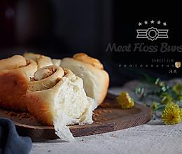 面包机版肉松面包卷的做法