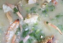 足料花蟹粥的做法