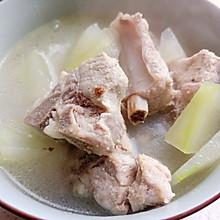 超简单的冬瓜排骨汤