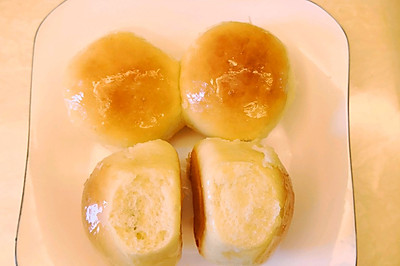 奶香蜂蜜面包