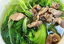 青菜瘦肉汤的做法