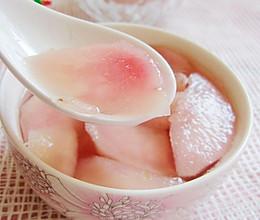 鲜桃糖水罐头的做法