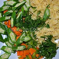时蔬沙拉拌意面的做法图解6