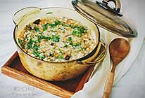 杂蔬肉末粥的做法
