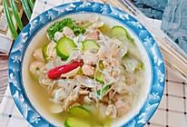 花蛤粉丝瓜片汤的做法