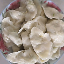 角瓜鸡蛋素饺
