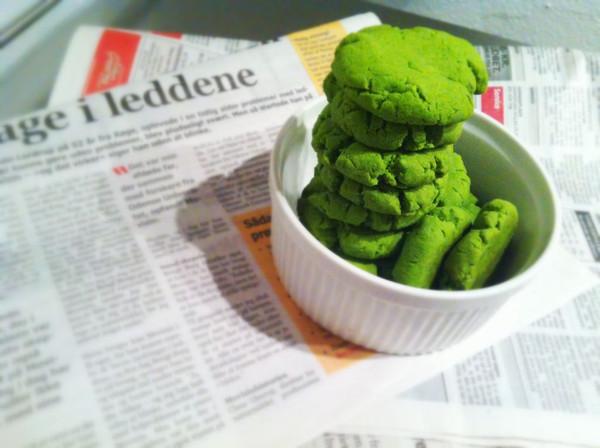 抹茶(绿茶)酥 (无黄油无蛋素食版)的做法