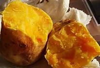 微波炉版烤山芋的做法