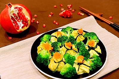 山东菜-石榴鸡(蒸鸡)