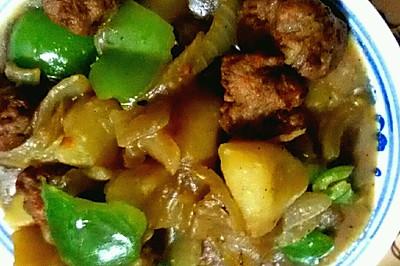肉丸炖土豆