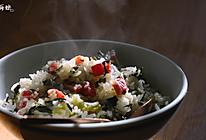 老上海咸肉菜饭的做法