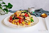 健康减脂藜麦虾仁沙拉!的做法