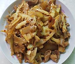 笋子炒肉的做法