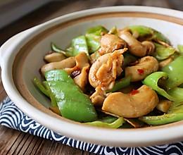 超级下饭菜豆瓣酱青椒炒生肠,有这菜一餐可以多吃两碗饭的做法